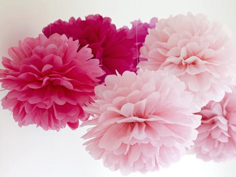 comment faire des fleurs en papier crepon. Black Bedroom Furniture Sets. Home Design Ideas