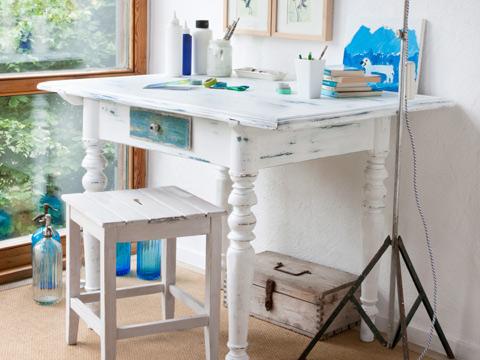 patiner une table patine cire dore libron sur chalk paint action conseils pour une patine pas. Black Bedroom Furniture Sets. Home Design Ideas