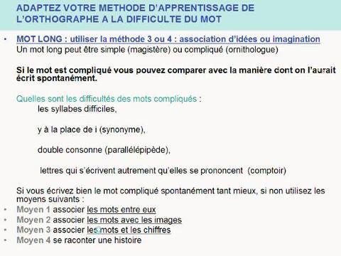 La Methode Pour Une Bonne Orthographe Des Mots Enfant Famille