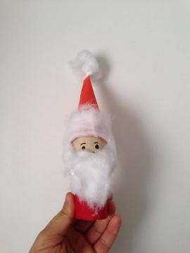 Comment Realiser Un Pere Noel Avec Un Rouleau En Carton Enfant