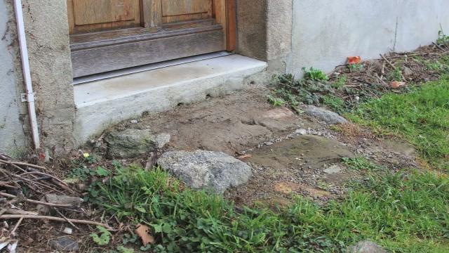 Comment Faire Un Pas De Porte En Bton   Bricolage  Maison  Jardin