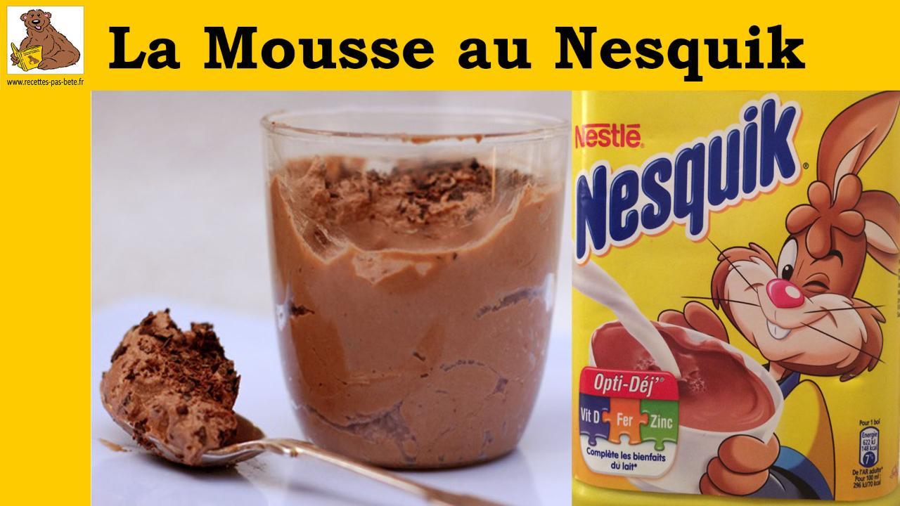 La Mousse Au Nequik Desserts Cuisine Vins