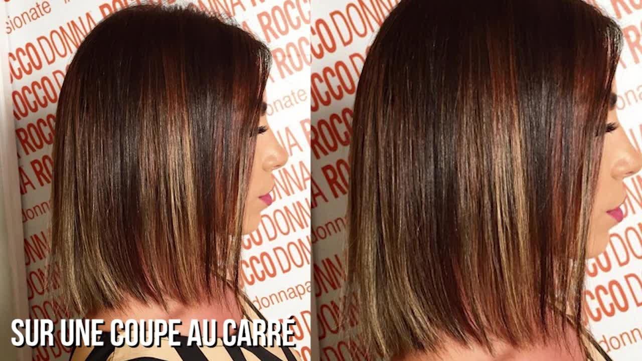 Coloration pour balayage rate