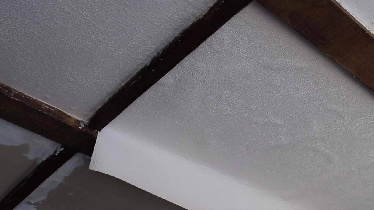 Comment Poser Un Papier Peindre Sur Un Plafond Bricolage