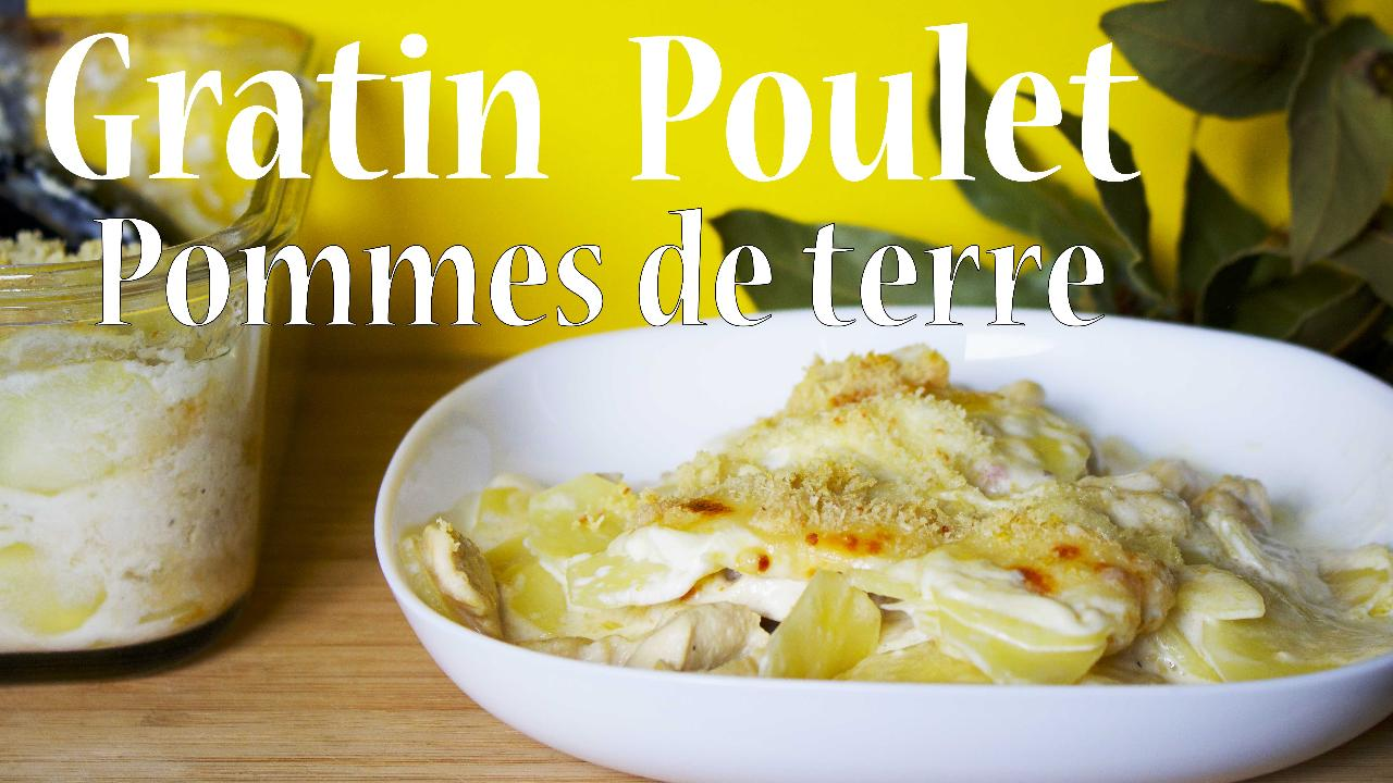 Gratin Poulet Pommes De Terre Facile Plats Cuisine Vins