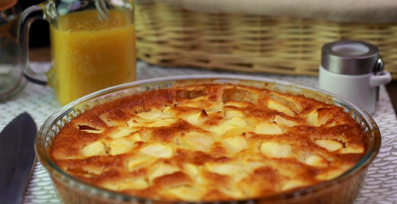 Gateau Aux Pommes Sans Oeufs Recettes Recette Sur Cuisine Actuelle