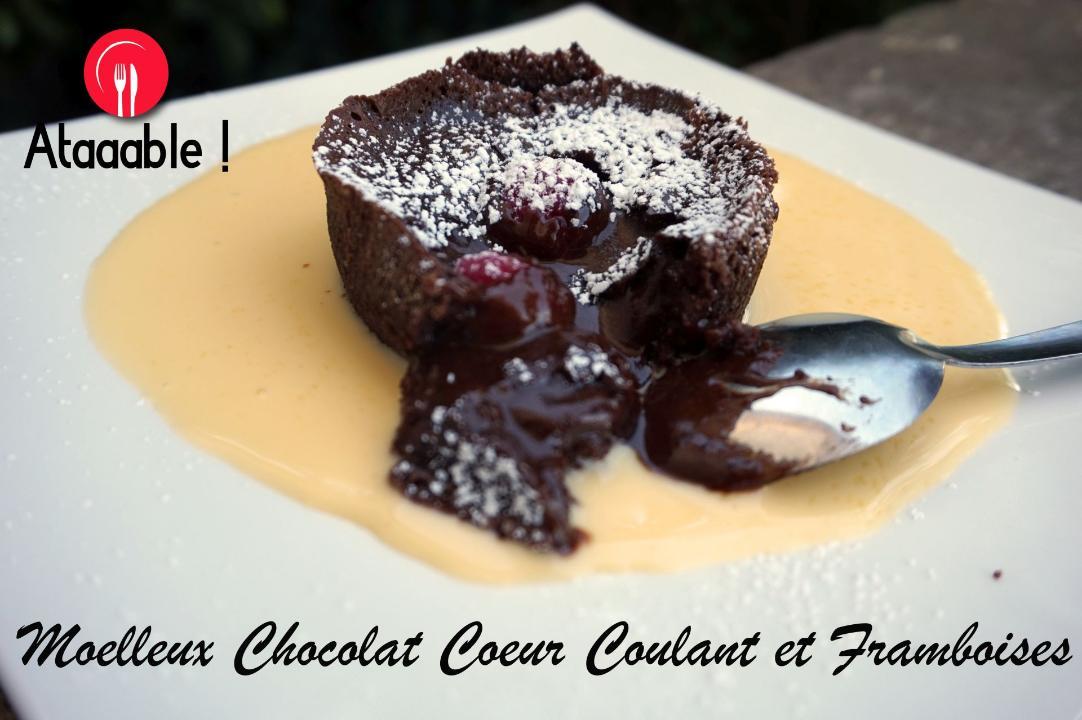 Comment Faire Un Moelleux Au Chocolat Cœur Coulant Framboises