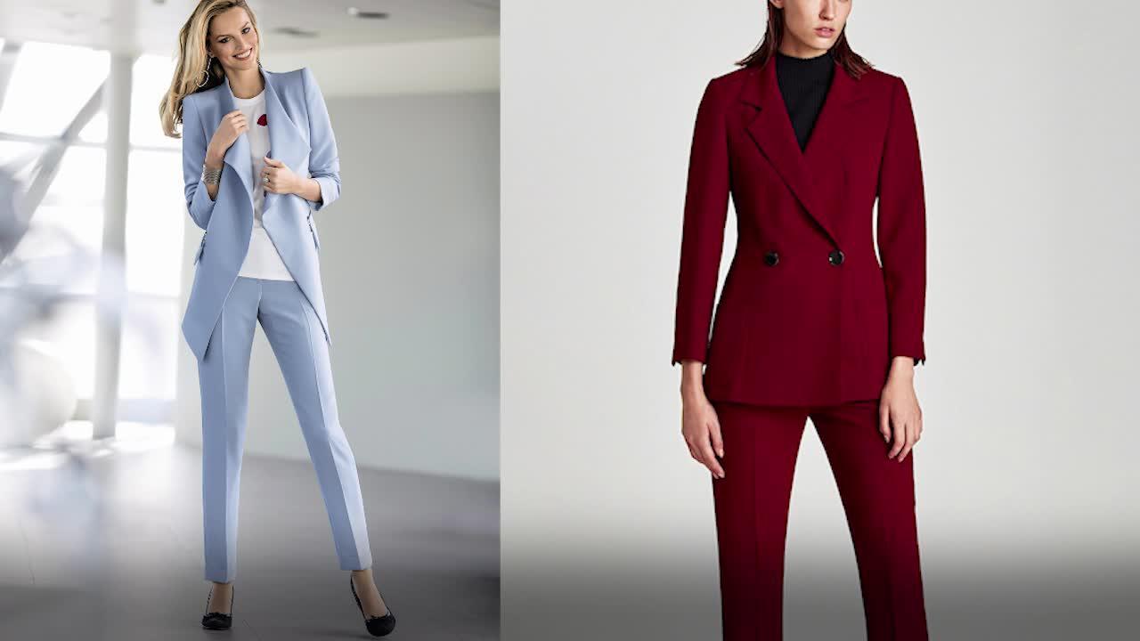 Comment porter le tailleur pantalon sans faire mémère     Femme Actuelle Le  MAG c1f13248271a