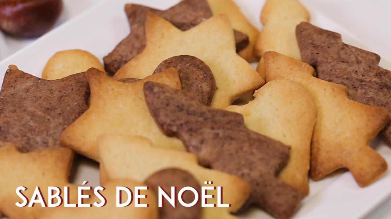 Sables De Noel Facile Decouvrez Les Recettes De Cuisine Actuelle