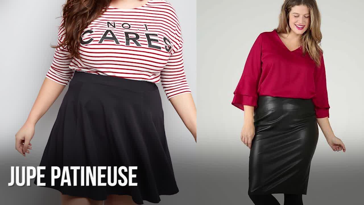 Mode ronde   les plus belles jupes d hiver pour sublimer vos formes   Femme  Actuelle Le MAG 3006409f4aa0