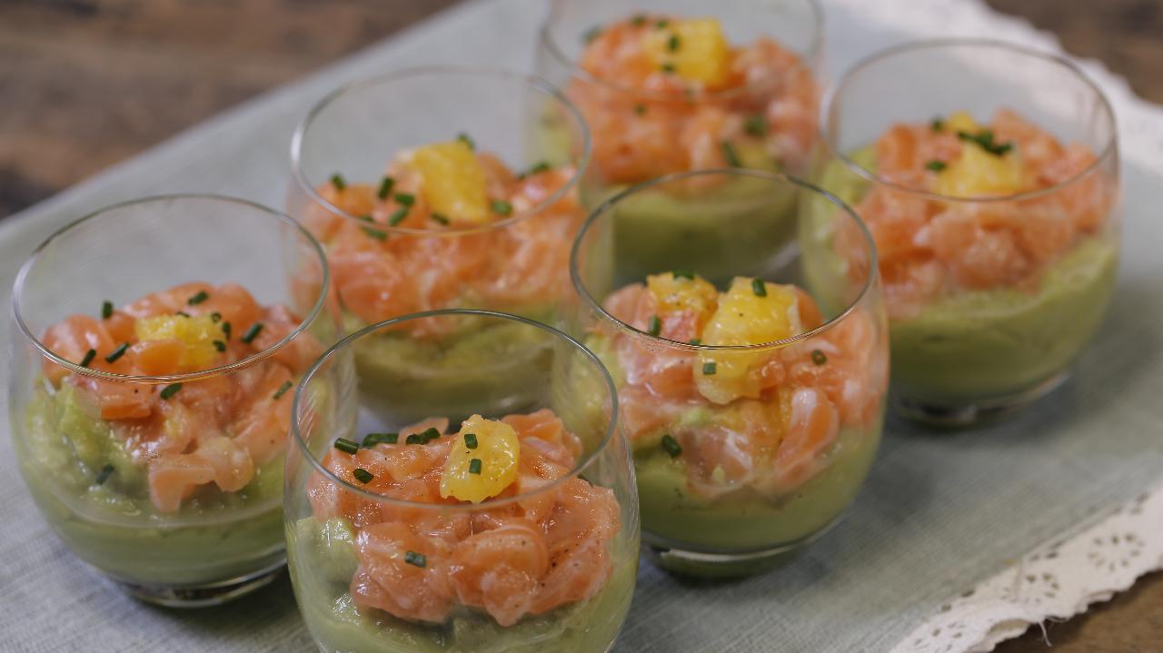 facile, rapide, la verrine de saumon, elle a tout bon ! : femme