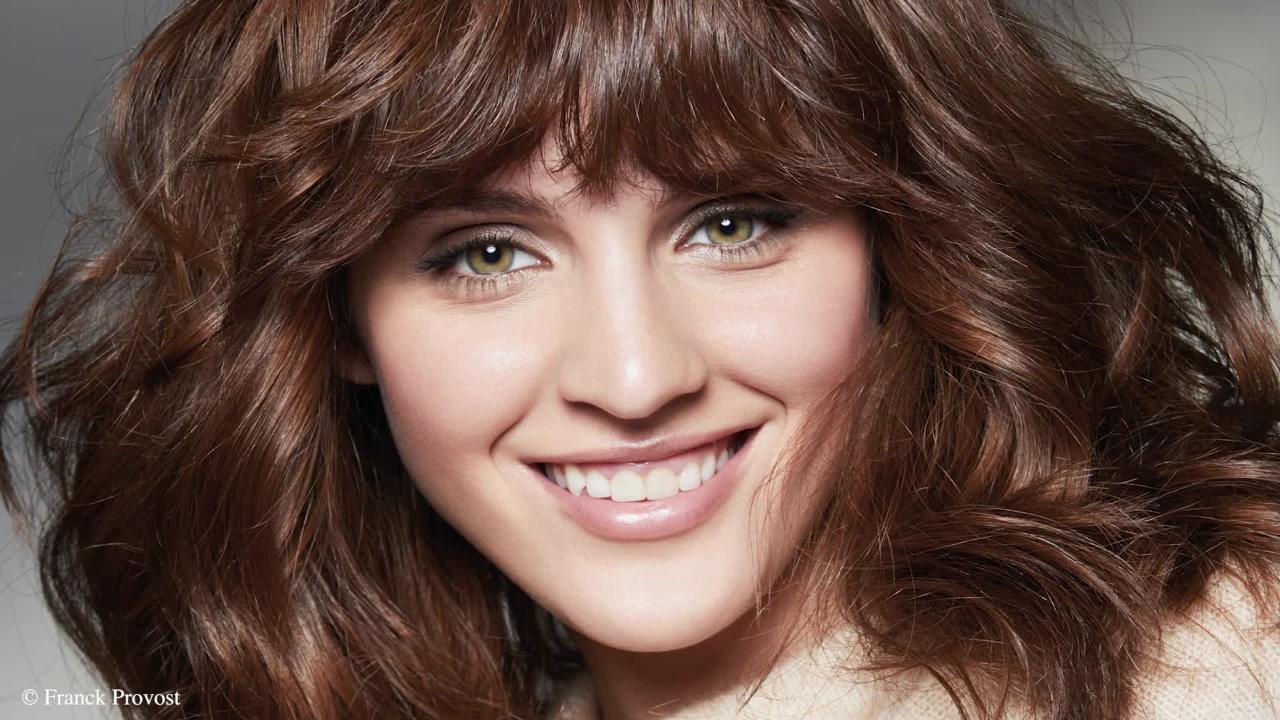 Femme Actuelle Sylver Boll Coupes Et Coiffages Pour Cheveux épais