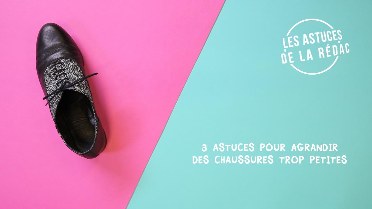 336ef137829a3 5 astuces pour agrandir des chaussures trop petites   Femme Actuelle Le MAG
