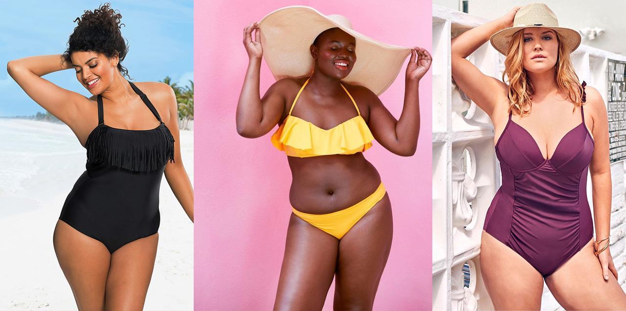 caeaf4946fdd8 Mode ronde : 20 maillots de bain grande taille pour être la plus belle sur  la plage : Femme Actuelle Le MAG